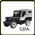 Body category  G503 Army Jeep Parts for  CJ3A Military Jeeps