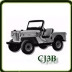 Body category  G503 Army Jeep Parts for  CJ3B Military Jeeps