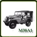 Body category  G503 Army Jeep Parts for  M38A1 Military Jeeps