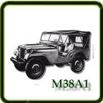 Engine category G503 Army Jeep Parts for M38A1