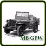 Fuel category G503 Army Jeep Parts for Willys MB or Ford GPW Military Jeeps