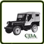 Fuel category  G503 Army Jeep Parts for  CJ3A  Military Jeeps