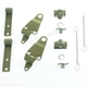 MB GPW, MB GPW PartsTop bow complete bracket hardware set, F marked -top-bow-k-GPW,MB,GPW,top-bow-k-GPW Jeep G503 RFJP VintageJeeps