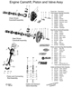 MB GPW, MB GPW Parts Engine L-134 Camshaft Pistons Valves Diagram -L134 Diagram,MB,GPW,L134 Diagram Jeep G503 RFJP VintageJeeps