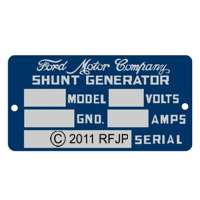 G503,Army Jeep, Military Jeep, Military, WWII, Post War, Willys, Ford, CJ,MB,GPW,M38,GPW generator data plate,dp-gen gpw