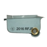 MB GPW, MB GPW PartsFuel tank sump early w/ drains -A3497 E,MB,GPW,A3497 E Jeep G503 RFJP VintageJeeps