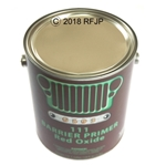 G503,Army Jeep, Military Jeep, Military, WWII, Post War, Willys, Ford, CJ,MB,GPW,M38,111 primer, red oxide, gallon can