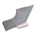 MB GPW MB GPW body panel front passenger side 1/4 cowl panel with step  -A12010 Vintagejeeps RFJP G503