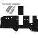 Firewall padding kit for late Willys MB -A3132 02