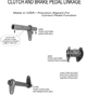 MB GPW, MB GPW PartsCluth and Brake Shafts and Bracket Details -Clutch and Brake Shafts and Bracket Details,MB,GPW,Clutch and Brake Shafts and Bracket Details Jeep G503 RFJP VintageJeeps