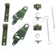MB GPW, MB GPW PartsTop bow complete bracket hardware set -top-bow-k,MB,GPW,top-bow-k Jeep G503 RFJP VintageJeeps