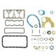 G503,Army Jeep, Military Jeep, Military, WWII, Post War, Willys, Ford, CJ,MB,GPW,M38,Felpro F134 complete overhaul gasket set,810585