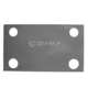 Pintle rear reinforcement plate internal -A552